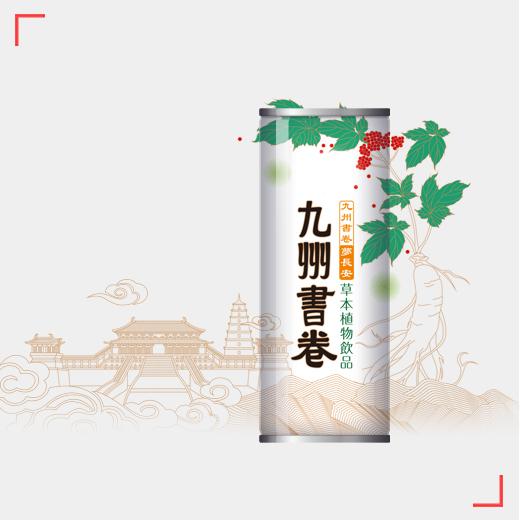 九州书卷梦长安草本植物饮品