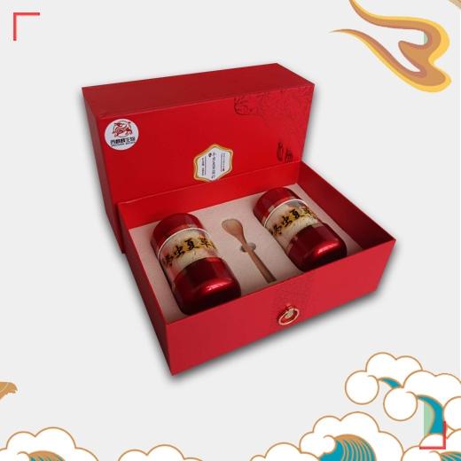 中国红礼盒冬虫夏草菌粉